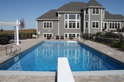 Completed Inground Swimming Pools Landscaping Swimming Pool Designs And Cost
