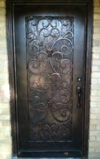 Front Doors With Wrought Iron Pin By Cheryl Redden On Diy Home Decor