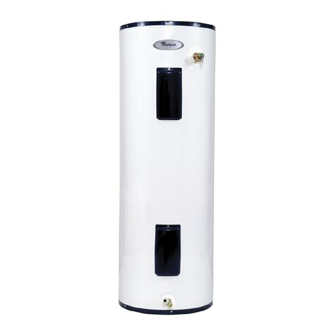 Small Water Heaters At Lowe S Shop Whirlpool 50 Gallon 6 Year Electric Water Heater