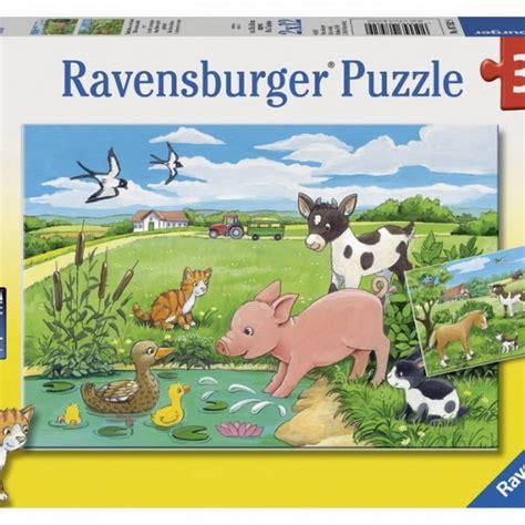 Baby Animal Puzzle children s jigsaw puzzle baby farm animals 2 x 12