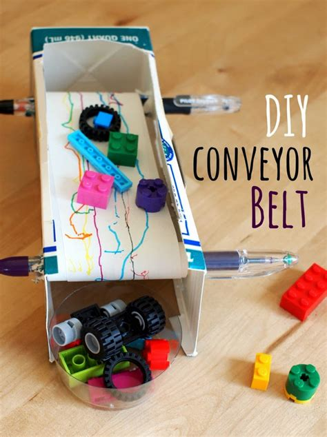 how to make a mini conveyer belt ftempo