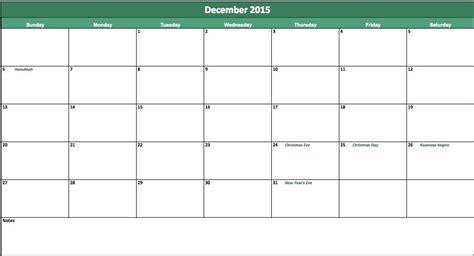 excel calendar template 2015 eskindria com