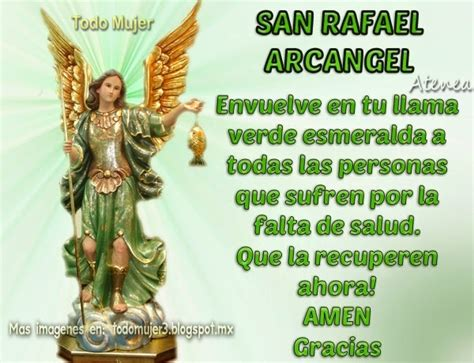 oracion al arcangel rafael  pedir curacion planeta