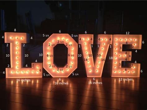light up letter board diy light up sign finished weddingbee