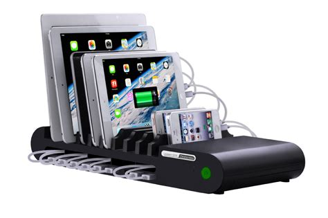 charging station organizer for multiple devices universal multi device cord organizer stand and charging