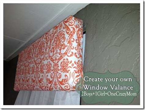 Make Your Own Cornice Make Your Own Diy Window Valance In No Time An No Sew 2