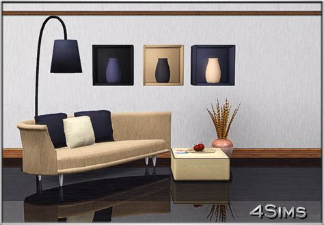 arria wall decor boxes  floor lamp  sims  sims