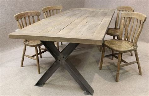 industrial style kitchen tables metal base table a sturdy industrial style table with an
