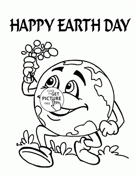 coloring sheets earth day printables cute earth earth day coloring page for kids coloring