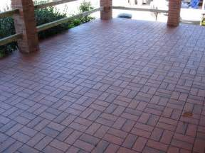 outdoor patio tiles concrete basketweave with quarry tile concrete patio