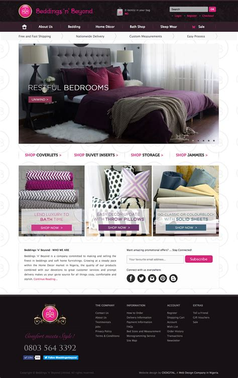 bedding websites beddings n beyond ecommerce development for a home bed