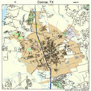 map conroe conroe map 4816432