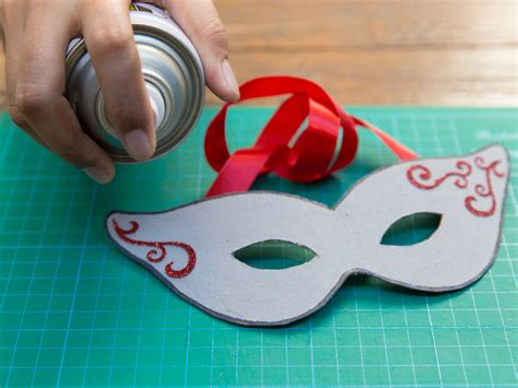 How To Make An Mask Out Of Paper Mache - how to make a paper mask 14 steps with pictures wikihow