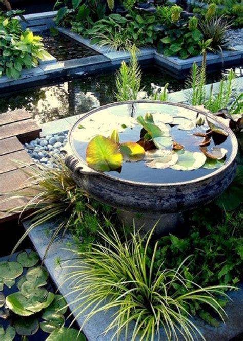 Aquatic Garden Decor Mini Pond Design Ideas