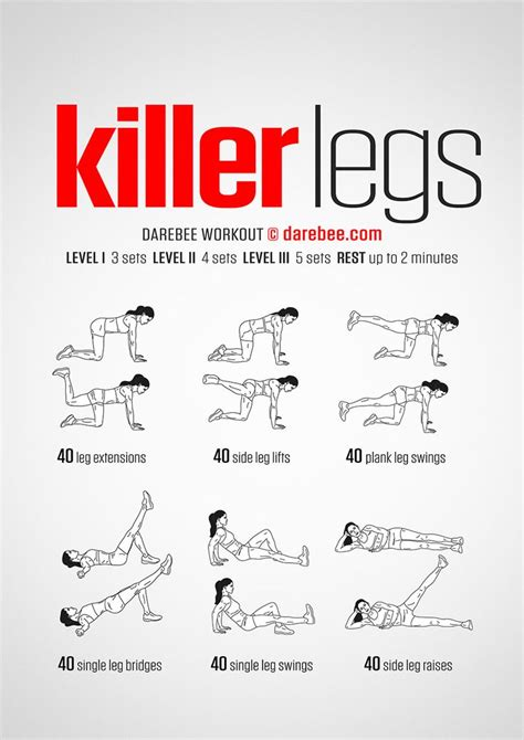 best workout routine for best 25 killer leg workouts ideas on in