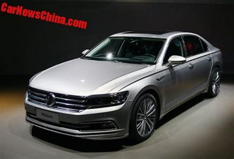 volkswagen phideon price spy shots volkswagen phideon testing in china