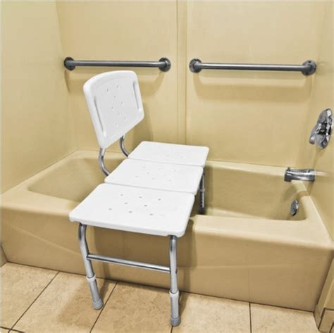 how to use a shower transfer bench transfer tub bench probasics transfer bench aquasense