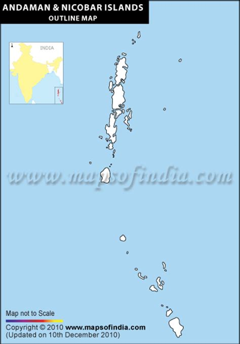 Andaman And Nicobar Outline Map by Andaman Nicobar Islands Outline Map Blank Map Of Andaman Nicobar Islands