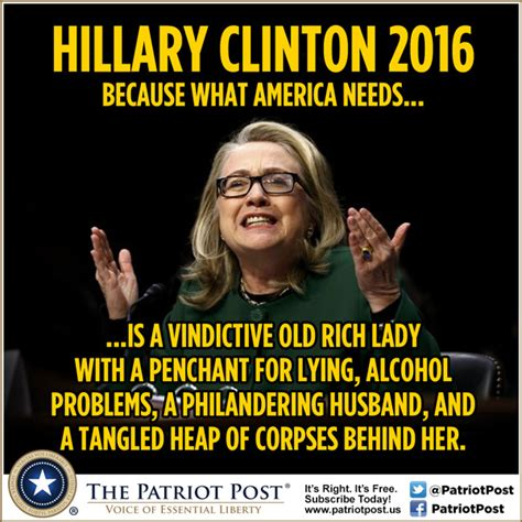 Hilary Meme - meme hillary clinton 2016 the patriot post