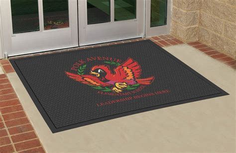 Custom Mats by All Rubber Custom Logo Mats Are Custom Floor Mats By