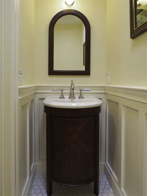 small powder room vanity houzz - Powder Room Vanity