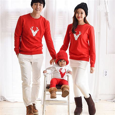 Family Clothes | christmas family look deer mommy and me clothes matching