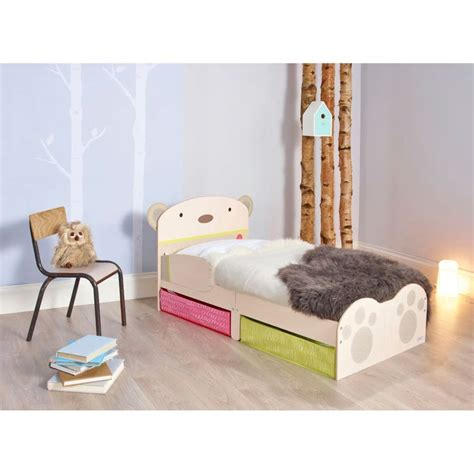 lada lettino worlds apart toddler bed with drawers hug beige