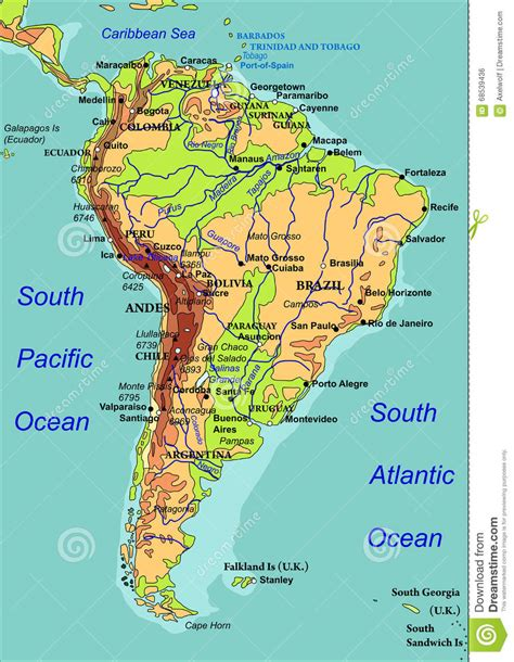 rivers of south america map south america river map roundtripticket me
