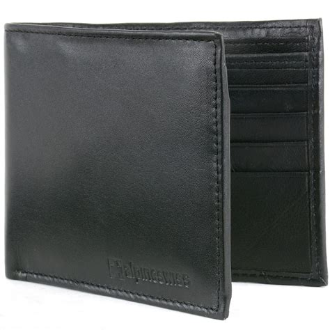 And Bifold Wallet alpine swiss mens leather wallet money clip bifold trifold