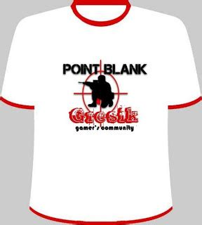 T Shirt Ponit Balnk t shirt point blank edition part 3