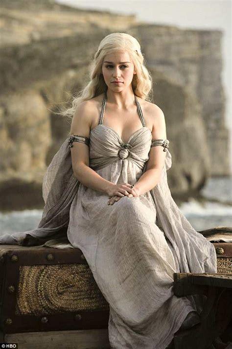 actress game of thrones season 1 emilia clarke teases game of thrones season 8 daily mail
