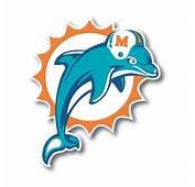Miami Dolphins Vinyl Die Cut Decal / Sticker  4 Sizes