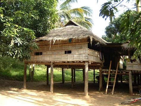 thai homes villages lives homes in northern myanmar thailand