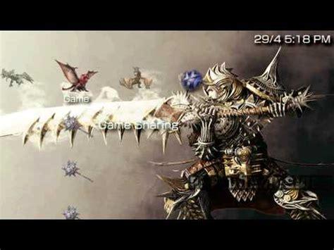 Theme Psp Monster Hunter | psp theme monster hunter psp themes net youtube