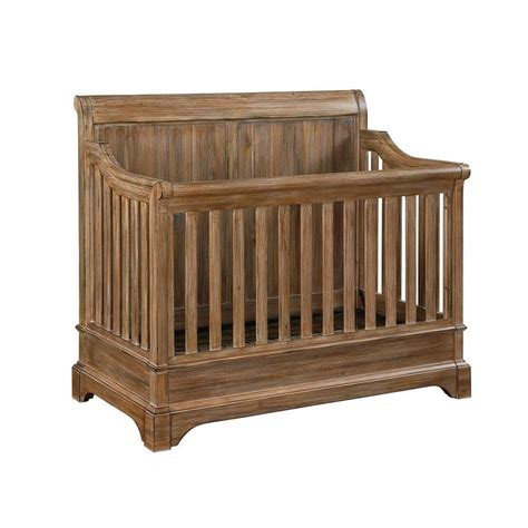 bertini pembrooke 4 in 1 convertible crib rustic convertible and