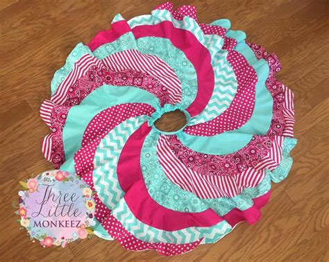 peppermint swirl skirt