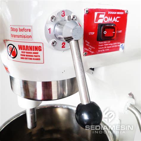 Mixer Roti Fomac mixer roti planetary fomac dmx h20