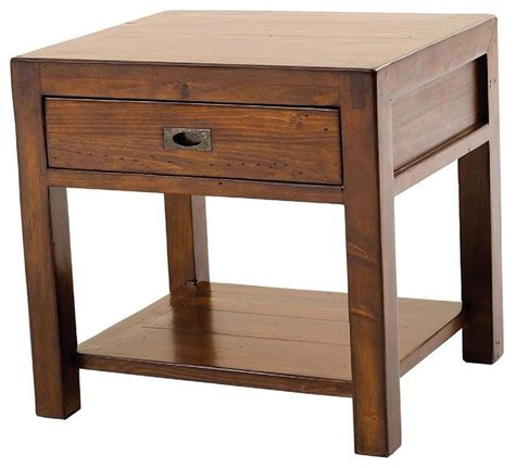 Bedside Table Parsons End Table Contemporary Nightstands And Bedside