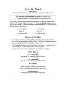 resume template for word http webdesign14