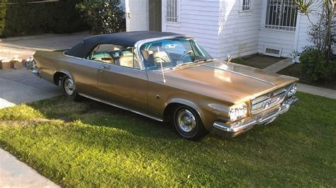 chrysler 300k 1964 chrysler 300k convertible t110 monterey 2012