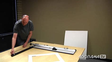 How To Use A Mat Cutter by Logan Simplex Plus 750 Mat Cutter Product Reviews