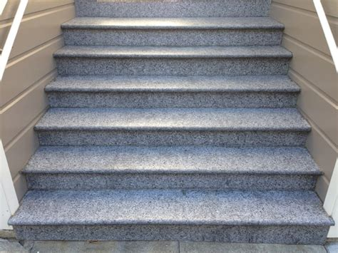 Granite Stairs Design Granite Entry Staircase Cleaning Sealing And Caulking Application Traditional San Francisco