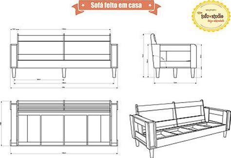 Futon 2 Cuerpos Medidas by Projeto Sofa Sof 193 Feito Em Casa Casa E Decora 231 227 O