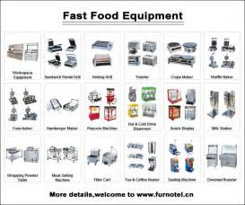list equipment for restaurant interior home page