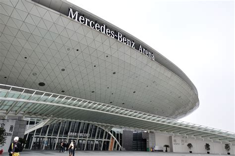 mercedes arena stadium in shanghai thousand wonders