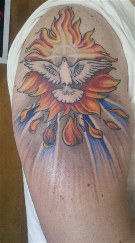 holy tattoo designs holy spirit dove
