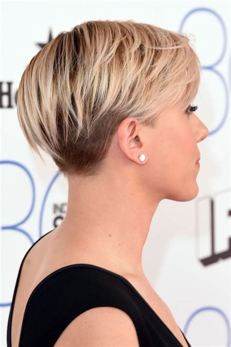 2015 scarlett johansen short hair 2015 scarlett johansson 2015 film independent spirit awards