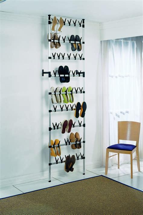 floor to ceiling shoe storage ruco floor to ceiling shoe rack 54 pairs german