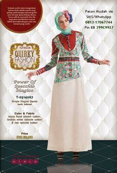 Baju Muslim Ranti Collection 1000 images about gamis modern terbaru on