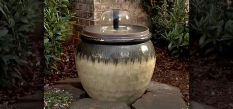 how to create a home water fountain with lowe s